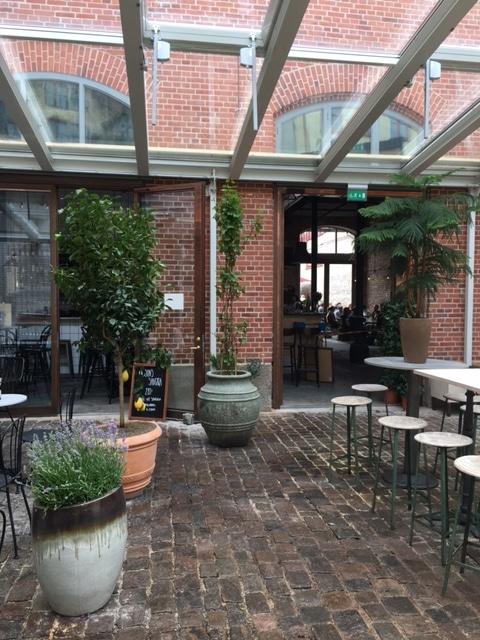 Projekt Orangeri på tredje långgatan i Göteborg